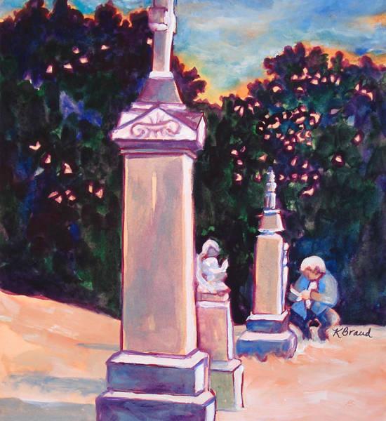 Seek Painting - Present Meets Past by Kathy Braud
