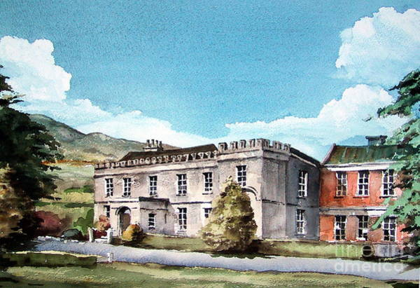 Painting - Presentation College, Bray. by Val Byrne