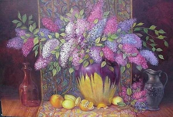 Painting - Preserving Spring by Naomi Dixon