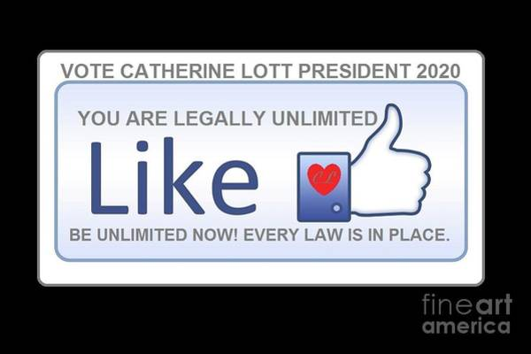 Digital Art - President 2020 by Catherine Lott
