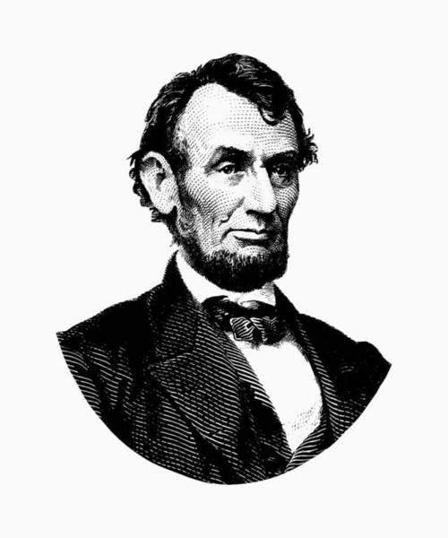 Lincoln Digital Art - President Abraham Lincoln Graphic by War Is Hell Store