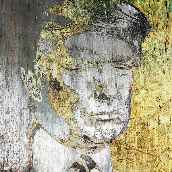 Democrat Mixed Media - President Donald Trump  by Tony Rubino