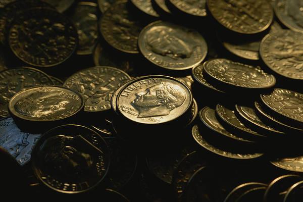 Money Photograph - President Franklin Roosevelts Profile by Joel Sartore