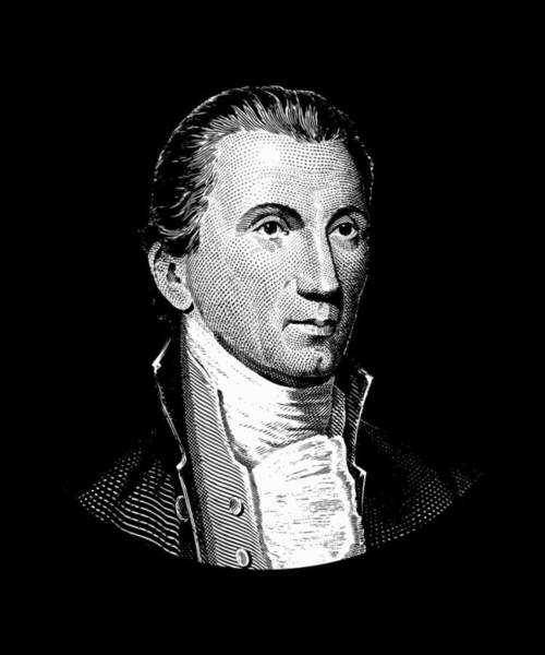 Government Digital Art - President James Monroe  by War Is Hell Store
