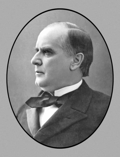 Us Presidents Painting - President Mckinley by War Is Hell Store