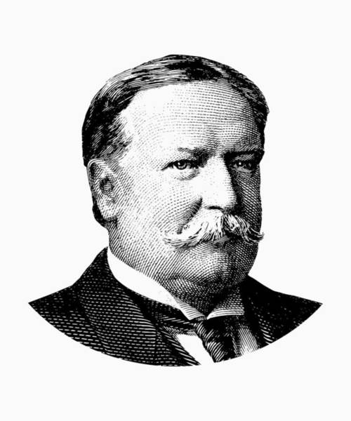 Government Digital Art - President William Howard Taft Graphic by War Is Hell Store