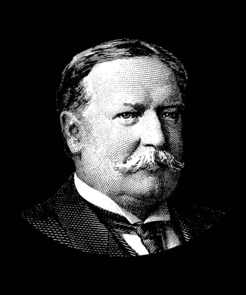 Government Digital Art - President William Howard Taft by War Is Hell Store