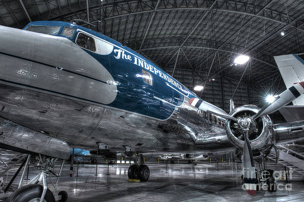 Wall Art - Photograph - Presidential Aircraft - Douglas Vc-118 The Independence  by Greg Hager