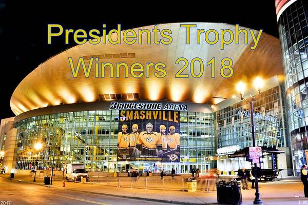 Photograph - Presidents Trophy Winners 2018  by Lisa Wooten