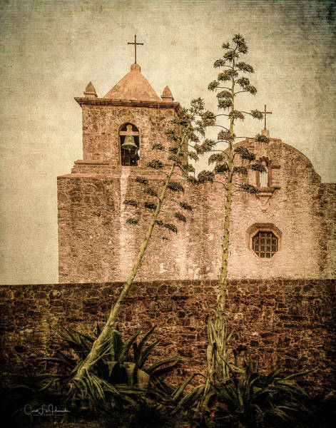 Digital Art - Presidio La Bahia by Carol Fox Henrichs