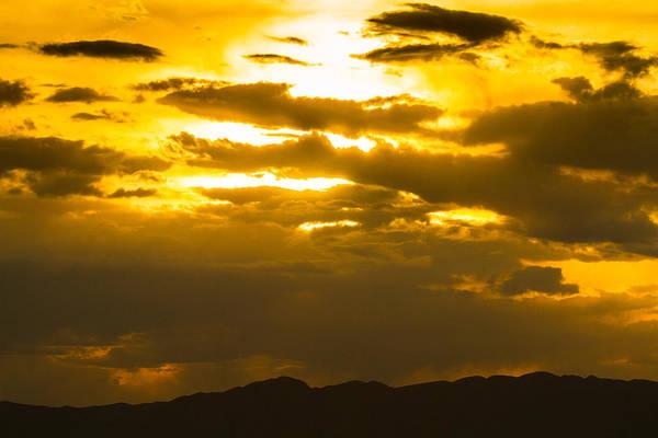 Photograph - Presidio Mountain Sunset by SR Green