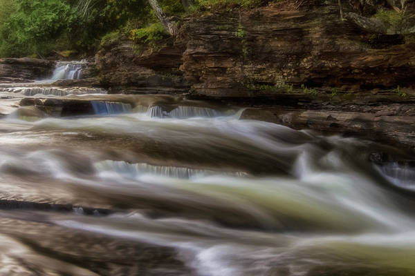 Photograph - Presque Isle River by Heather Kenward