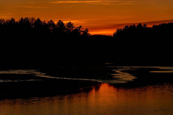 Photograph - Presumpscot Sunset No.101 by Mark Myhaver