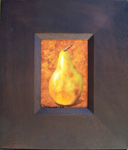 Painting - Pretentious Pear  Sold by Susan Dehlinger