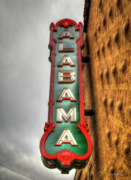 Photograph - Pretty As Ever The Alabama Theatre Birmingham Alabama Art by Reid Callaway
