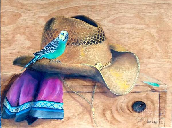Wall Art - Painting - Pretty Boy by Patricia Lang
