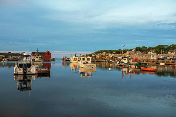 Photograph - Pretty Colors On Rockport Harbor And Motif #1 Rockport Ma by Toby McGuire