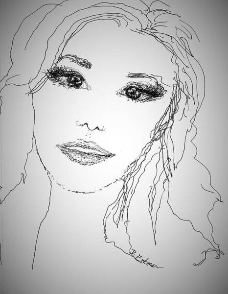 Pretty Eyes Art Print