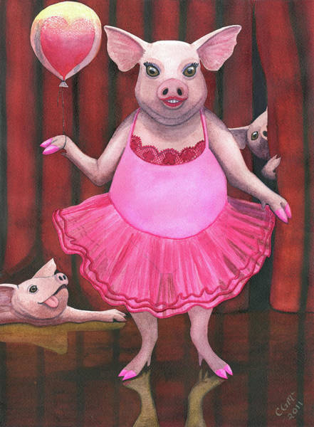 Painting - Pretty In Pink by Catherine G McElroy