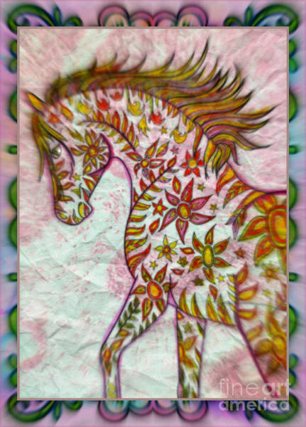 Pretty In Pink Mixed Media - Pretty In Pink by Wbk