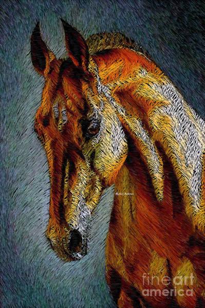 Digital Art - Pretty Red by Rafael Salazar