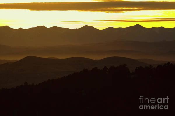 Photograph - Pretty Sangre De Cristo Winter Sunset by Steve Krull