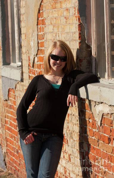 Photograph - Pretty Teen Blonde by Steve Krull