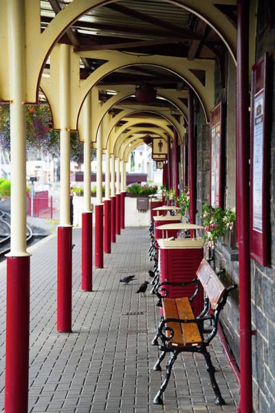 Wall Art - Photograph - Pretty Train Station by Svetlana Sewell