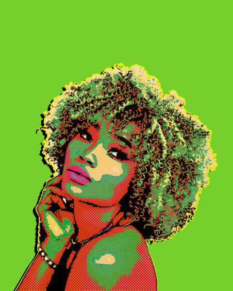 Digital Art - Pretty Woman II Pop Art by Anthony Murphy