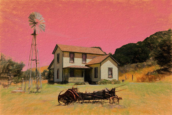 Photograph - Price Historical Park by Floyd Snyder