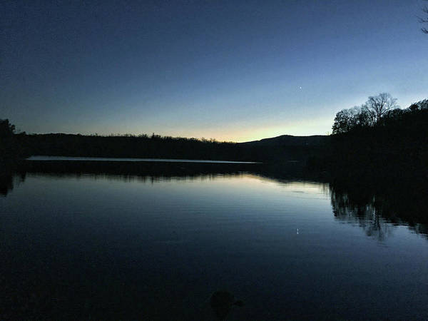 Photograph - Price Lake Sunset by Chris Berrier