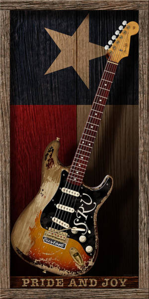 Stratocaster Photograph - Pride And Joy by WB Johnston