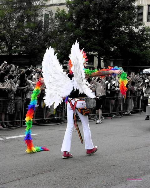 Photograph - Pride Angel 21126 by Brian Gryphon