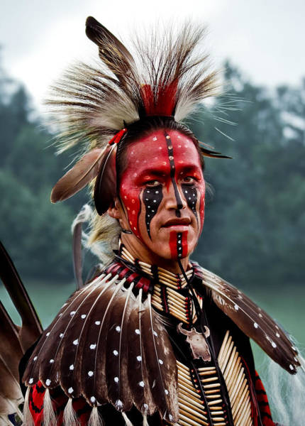 Native American Photograph - Pride by Maggie Terlecki