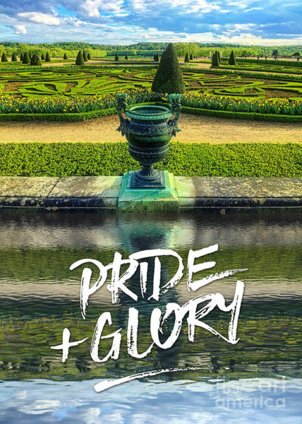 Photograph - Pride Plus Glory Versailles Palace Gardens Paris France by Beverly Claire Kaiya