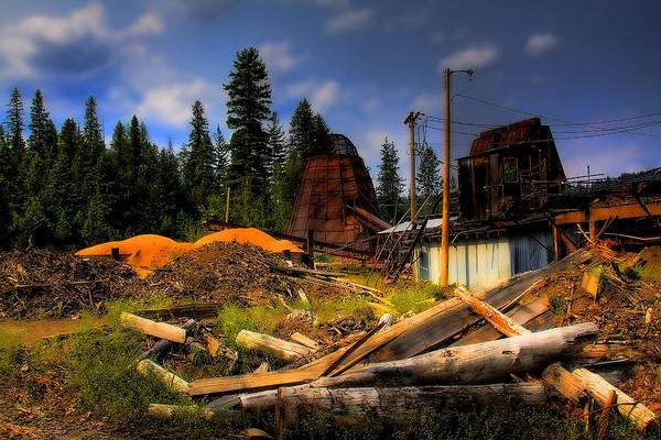 Photograph - Priest Lake Mill by David Patterson