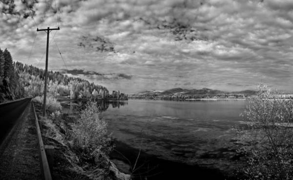 Photograph - Priest River Panorama 2 by Lee Santa