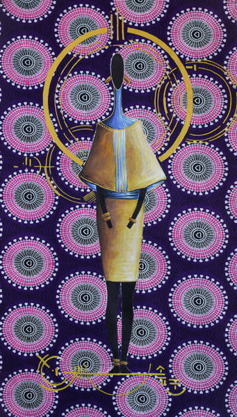 Kenya Mixed Media - Priestess 001 by Native Nairobi