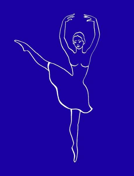 Girly Girl Painting - Prima Ballerina by Irina Sztukowski