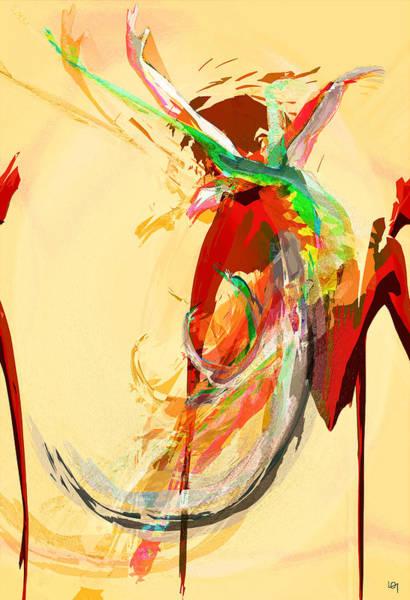 Ra Digital Art - Prima Ballerina by Lawrence O'Toole