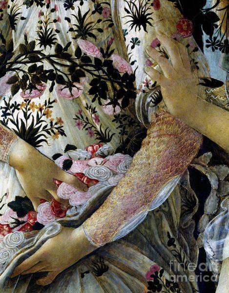 Primavera Painting - Primavera Closeup Vintage Painting by Tina Lavoie