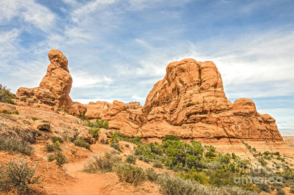 Photograph - Primitive Trail In Arches National Park by Sue Smith