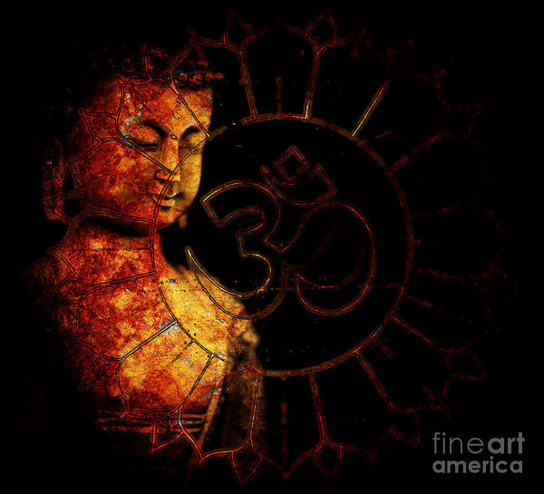Om Wall Art - Photograph - Primordial Aum by Tim Gainey