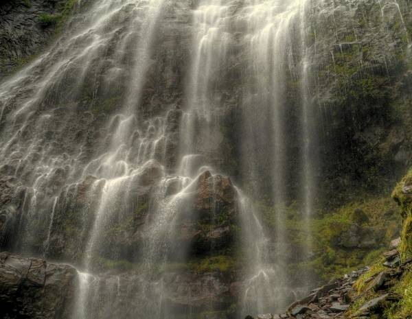 Wall Art - Photograph - Primordial Falls by Peter Mooyman