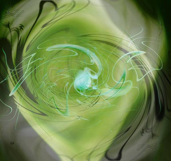 Digital Art - Primordial Soup Abstract by rd Erickson