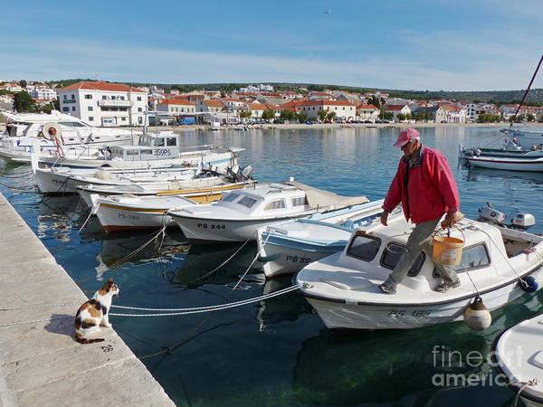 Photograph - Primosten - Croatia by Phil Banks