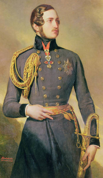 Nobility Painting - Prince Albert by Franz Xaver Winterhalter