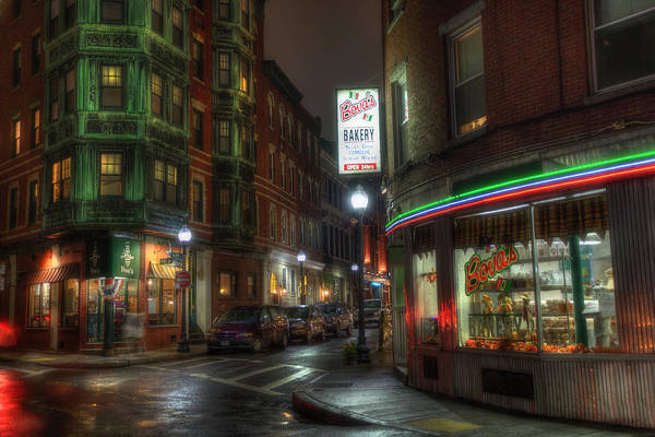 Photograph - Prince And Salem - North End Boston by Joann Vitali