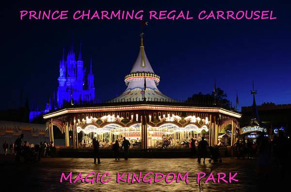 Prince Charming Wall Art - Photograph - Prince Charming Carrousel by David Lee Thompson