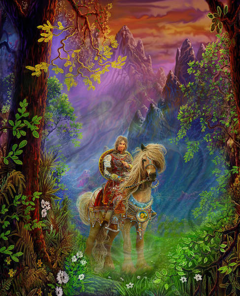 Prince Charming Wall Art - Painting - Prince Charming by Steve Roberts